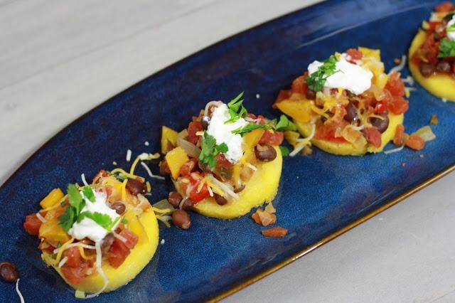 Mexican Polenta Stacks | Food I Love | Pinterest