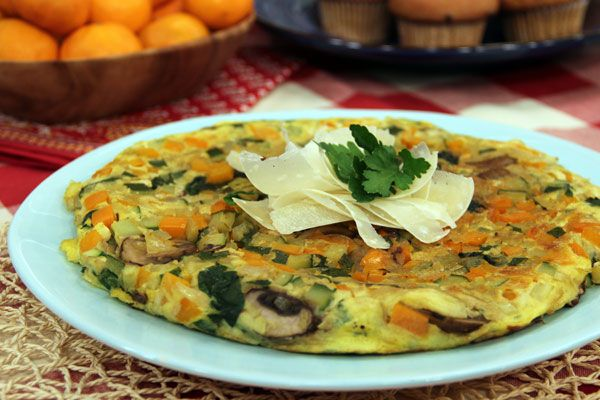 Spinach and Mushroom Frittata | Cravers | Pinterest