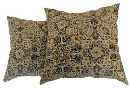 Newport Decorative Two Pack Pillows : Newport Layton Home Fashions 2-Pack KE20 Indoor/Outdoor Pillows, Made?