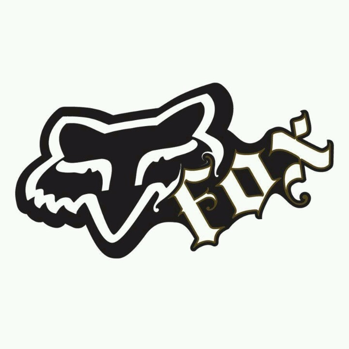 Fox/motocross | Logo mark | Pinterest