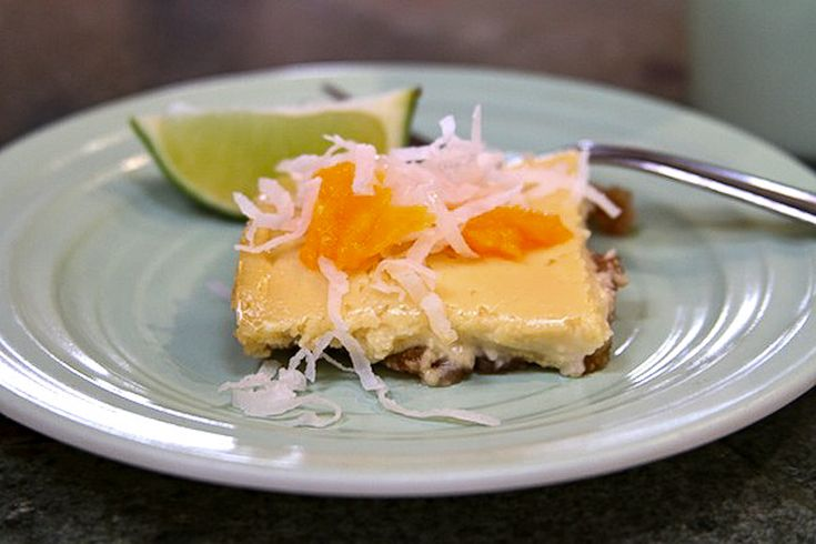 Gluten Free Tropical Cheesecake Bars Guest Post from Monica www ...