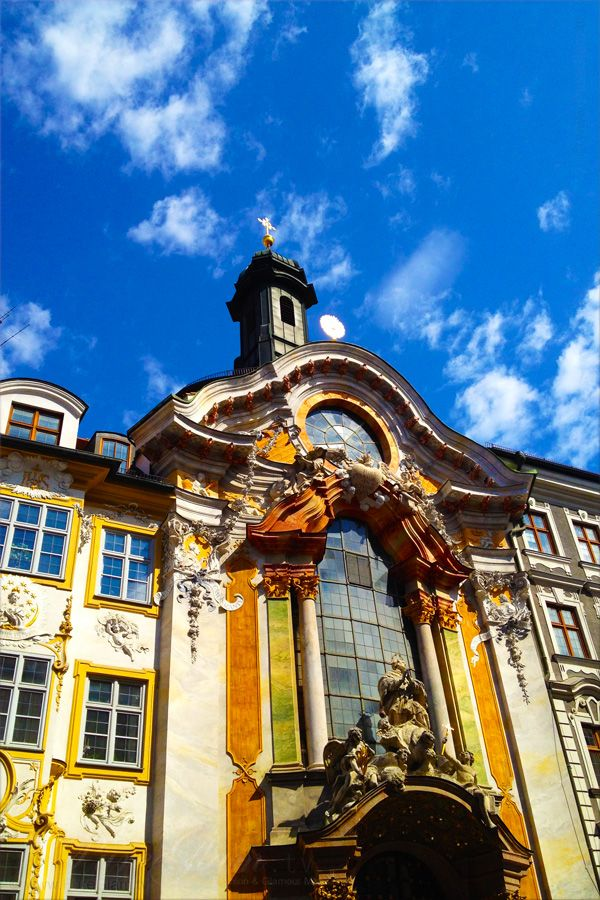 Asamchurch/Asamkirche - Sendlinger Strasse - Munich/ München, Germany/Deutschland