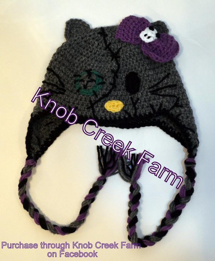Crochet Zombie Hat : ... zombie skeletor hat crochet ravelry abstract crochet cats pattern by