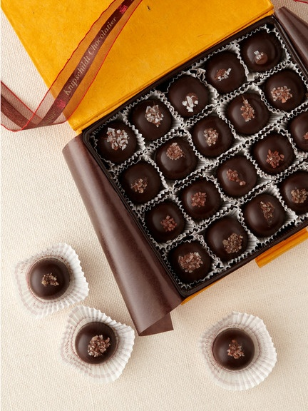 Caramel and Sea Salt Truffles A black town car pulled up with Clancy ...