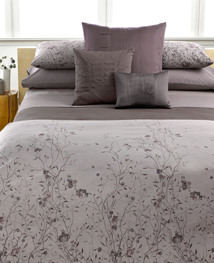 calvin klein home jardin bedding collection