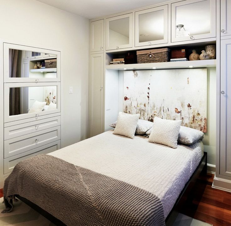 Small Guest Room Ideas With White Wall