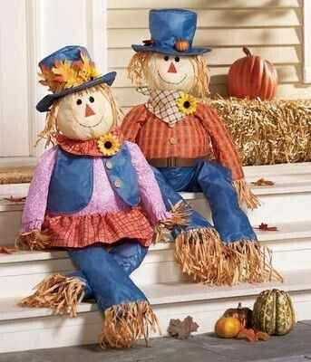Image result for Fall Scarecrows