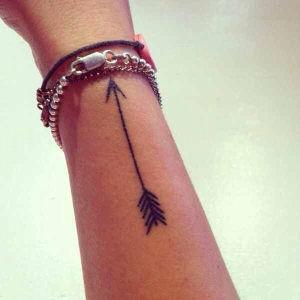 Simple arrow | little tattoos | Pinterest