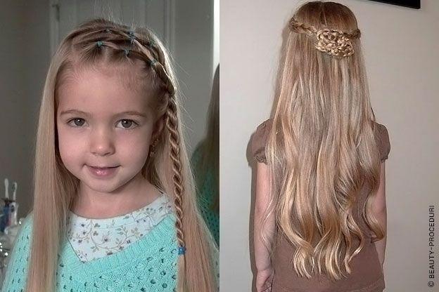 Прически для детей на самые короткие волосы