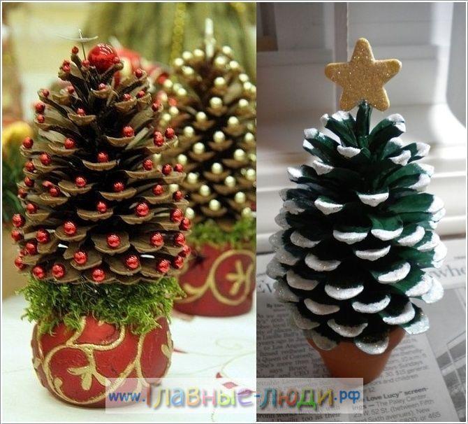 Новогодняя поделка как елка