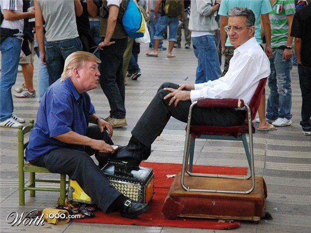"Donald ""Shoe Shine"" Trump | Shoe Shine | Pinterest"