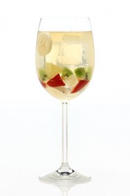 Sangria Blanca - White Wine with Fruit All Over