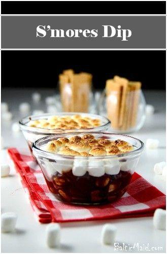 mores Dip | dips and cheeseballs | Pinterest