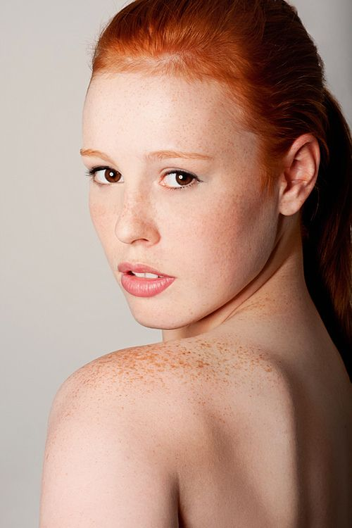 Hot redhead explains why women watch porn
