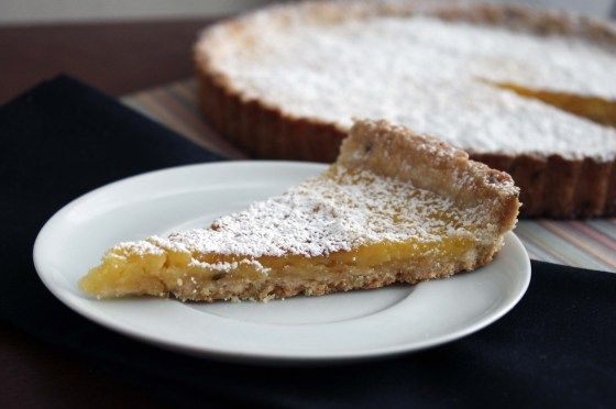 meyer lemon tart with a lavender shortbread crust | bakeologybylisa ...