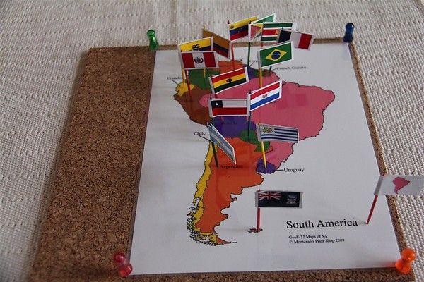 map flag pins