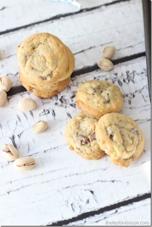 Pistachio Chocolate Chip Cookies, Pistachio Recipes, Healthy Recipes