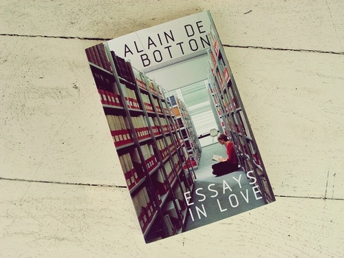 essays in love alain de botton excerpt