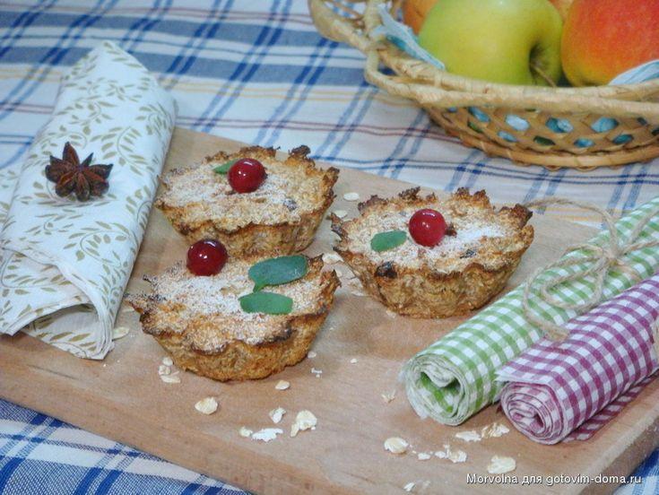 Рецепты готовим дома кексов в
