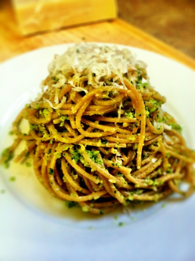 Broccoli Pesto Pasta Recipe — Dishmaps
