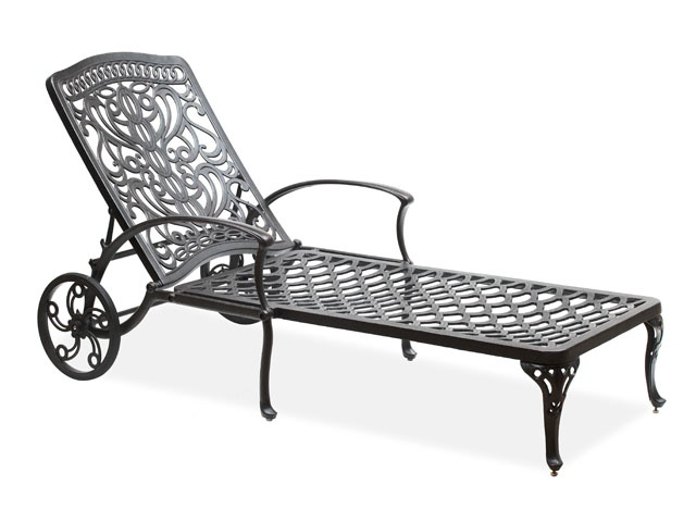 Chaise Lounge With Wheels Landscaping Outdoor Pinterest