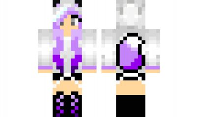 Minecraft skin wolf girl edit find it with our new android minecraft