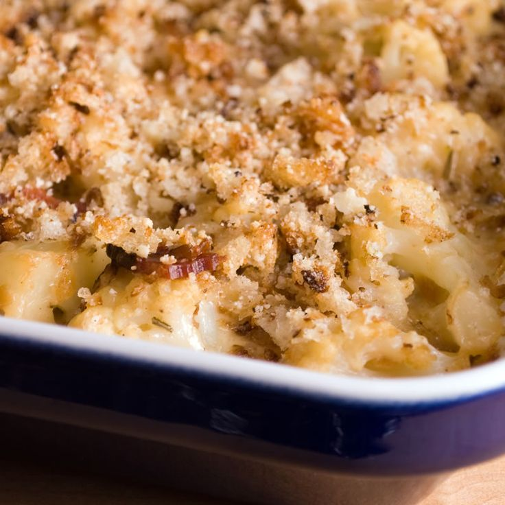 Cauliflower Gratin with Tillamook Aged Cheddar, Caramelized Onions ...