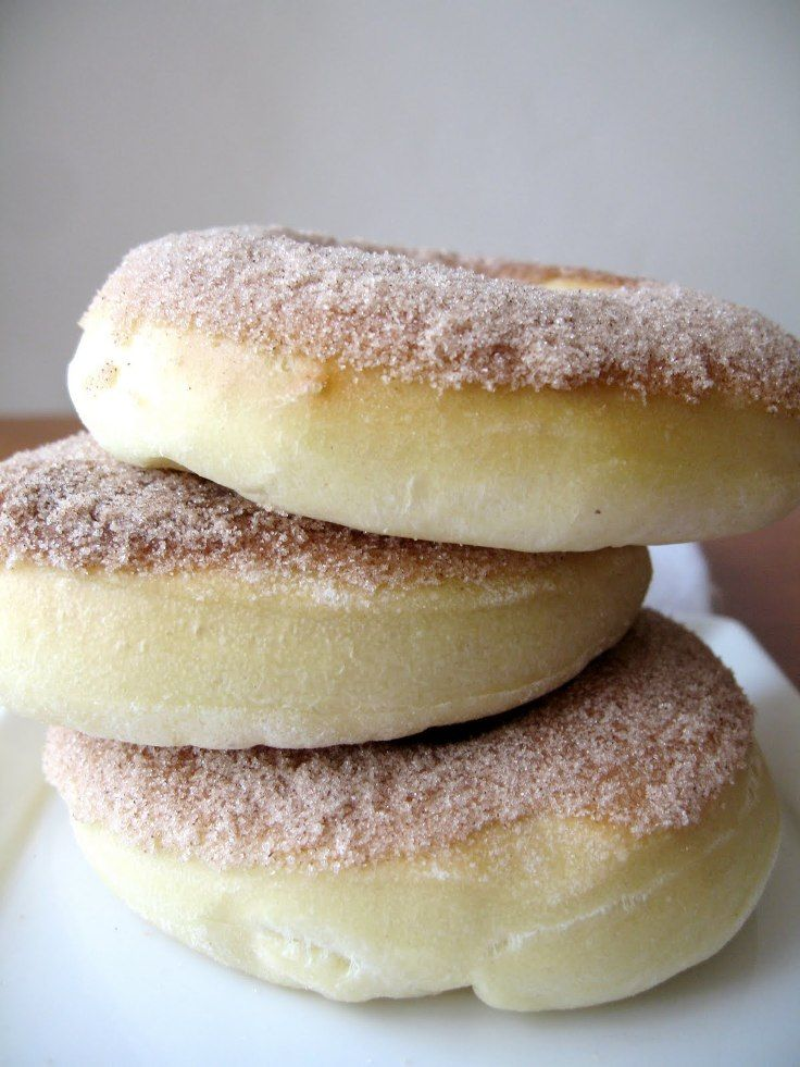 Baked Cinnamon Sugar Donuts-10 Irresistible Donuts Recipes!
