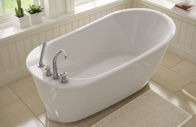 sax 5ft freestanding tub with deck mounted faucet mfg