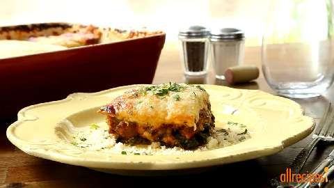 No-Noodle Zucchini Lasagna Allrecipes.com