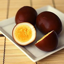 Shoyu tamago (Japanese soy sauce eggs) are wonderful as snacks or as ...