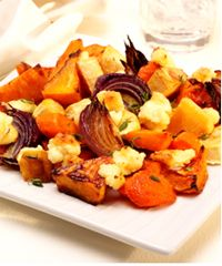 ... much more cozy than roasted root vegetables. They're sweet as candy