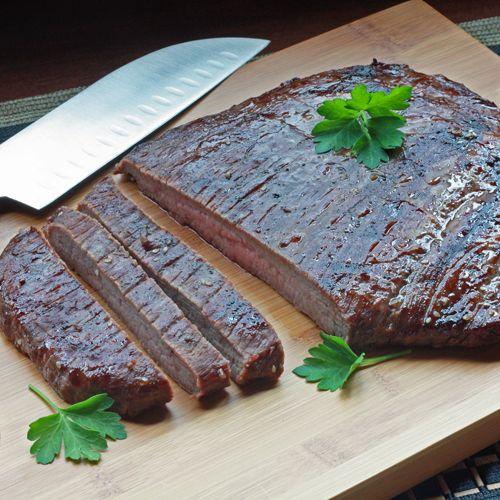 Grilled Korean-Style Flank Steak by Winner Dinners.