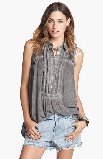 Free People Sleeveless Tunic | Nordstrom