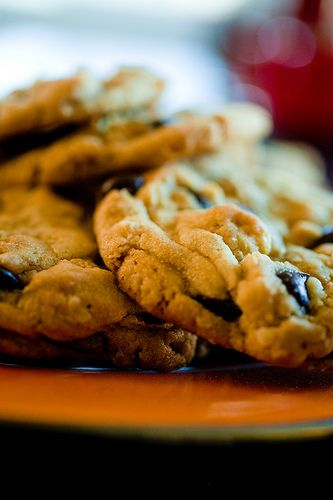 Crunchy Chocolate Cookies | Recipes | Pinterest
