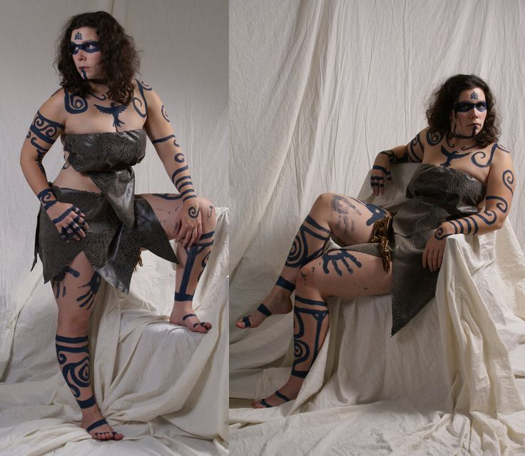 gaelic warrior body paint