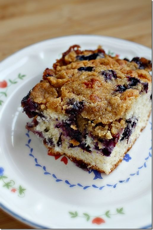 Blueberry Buckle | recipes | Pinterest