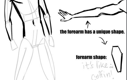 sketching people tips