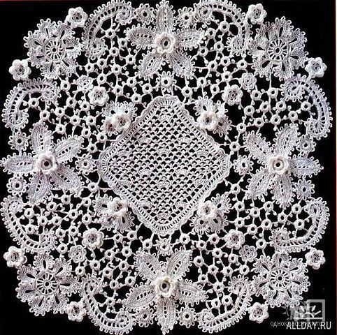 All About Crochet : Irish lace Crochet-1: All About Crochet Pinterest