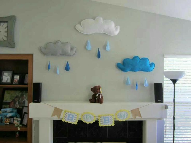 baby shower wall decor baby