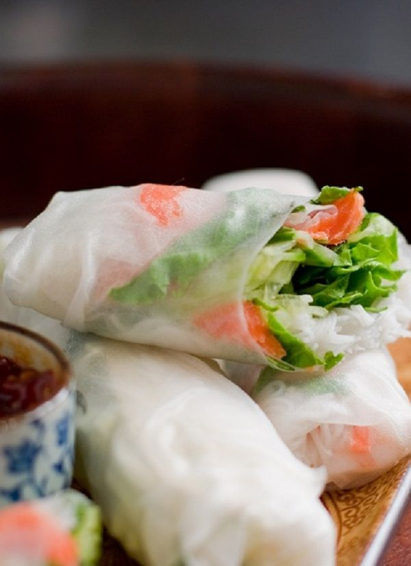 Vegetable Spring Roll | Asian Dishes | Pinterest