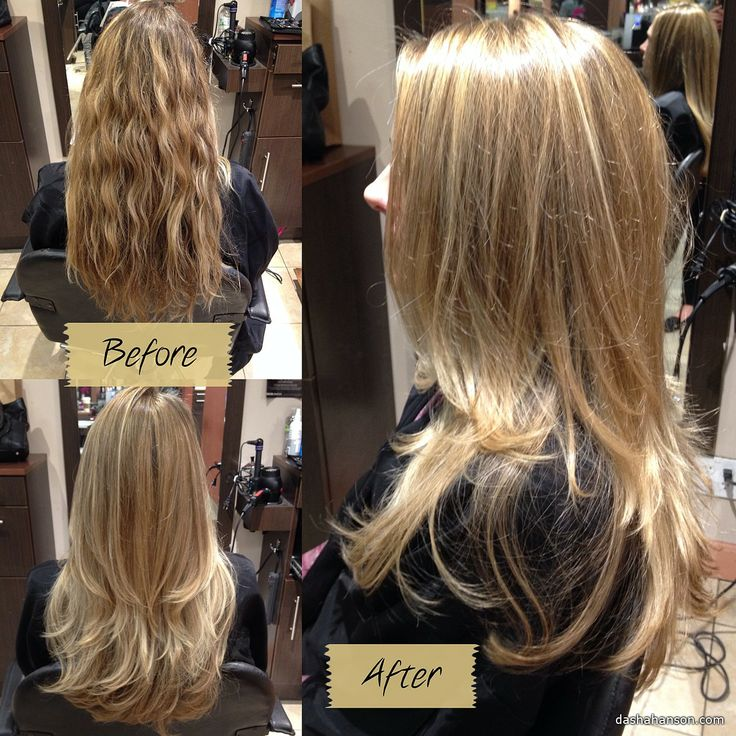 Partial Foil, Cut and Style- looks like my hair color at start, but ...