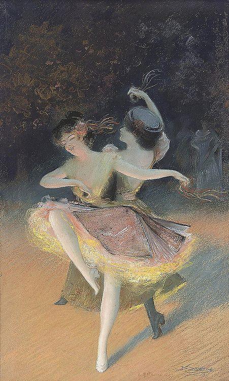 Ballet Dancers - Delphin Enjolras