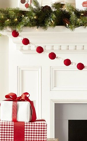 Pom Pom garland from Pottery Barn Kids