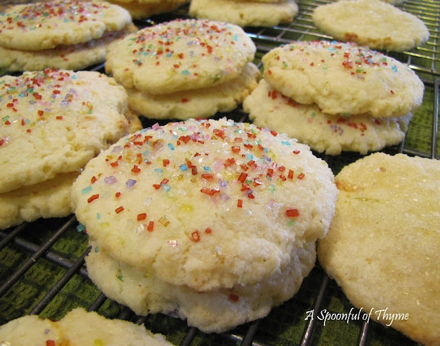 Chewy Coconut-Lime Sugar Cookies | Yummy | Pinterest