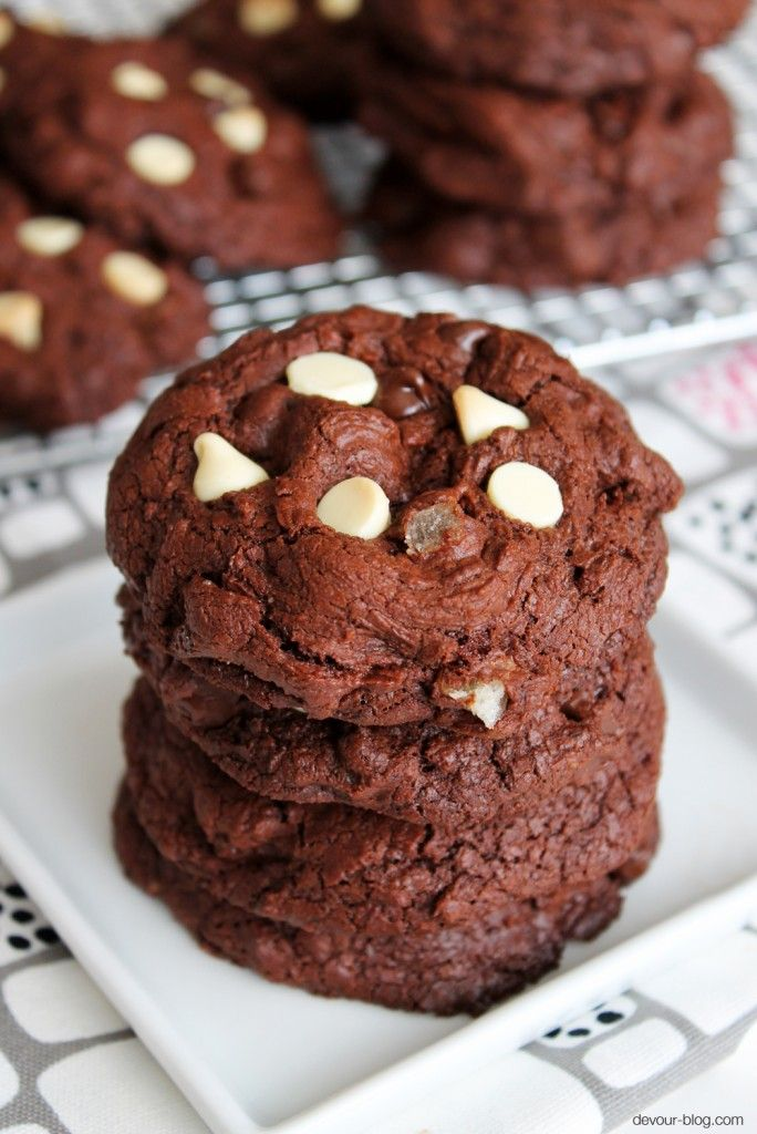 Double Chocolate Ginger Cookies. | Chocolate, Need I Say More? | Pint ...