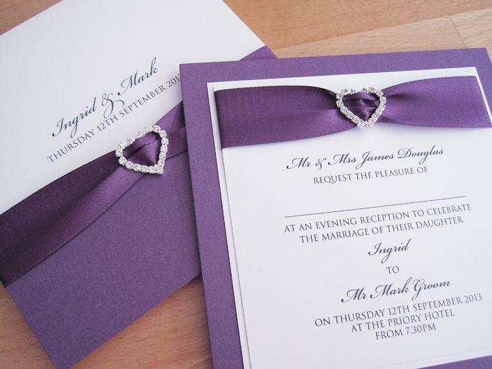 ribbon designs for wedding invitations. in wedding invitations,