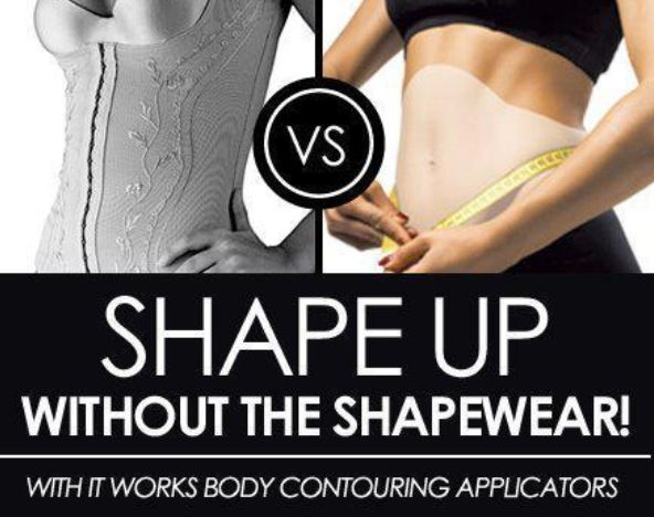 ItWorks Wraps vs Shape Wear