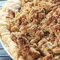 The Perfect Chocolate Chip Cookie: Apple Pie with Crisp Topping