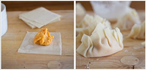 Naturally Ella | Baked Sweet Potato Potstickers
